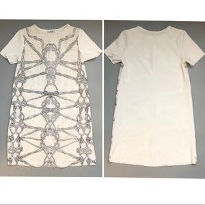 Zara Basic Collection white dress size small